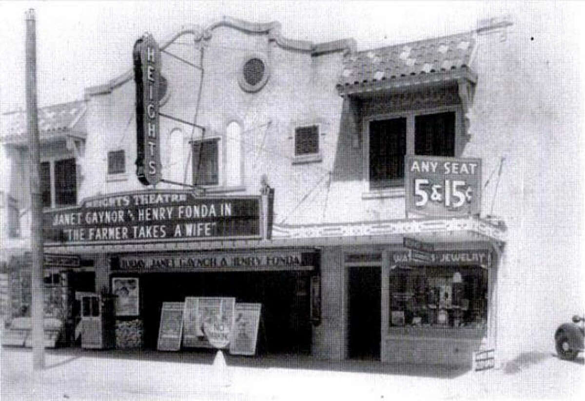The Heights Theater at 339 West 19th Street. The space has served as a movie house, event space, antique store and art gallery since it opened in 1929.
