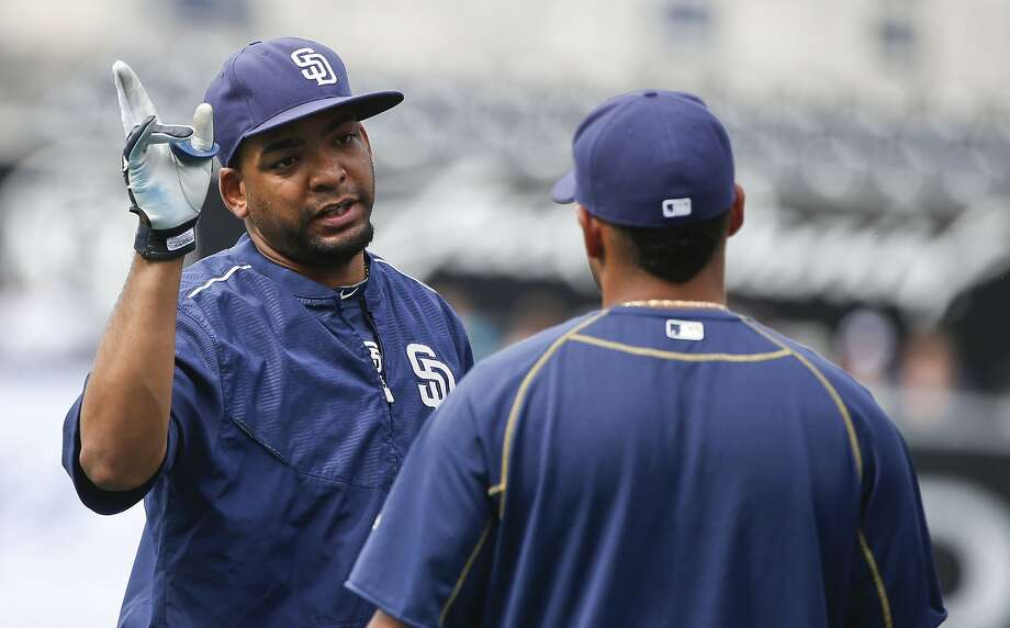 San Diego Padres starting pitcher Odrisamer Despaigne prior to a baseball game against the Seattle Mariners  Tuesday, June 30, 2015, in San Diego.  (AP Photo/Lenny Ignelzi) Photo: Lenny Ignelzi, Associated Press