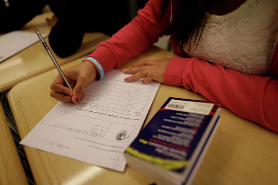Overhaul of the 13-year-old No Child Left Behind, the principal federal K-12 education law, is long overdue. (AP Photo/Mary Altaffer) Photo: Mary Altaffer, STF / AP