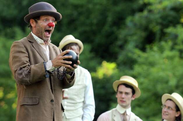 The Saratoga Shakespeare Company celebrates the Saratoga Springs Centennial with a production of Shakespeare's romantic comedy Love's Labour's Lost set in 1915 in Congress Park on Tuesday July 21, 2015 in Saratoga Springs, N.Y. The play runs July 21st – August 2nd in Congress Park, Saratoga Springs, on the Alfred Z. Solomon Stage, at 6 pm Tuesdays through Saturdays, and 3 pm Sundays. (Michael P. Farrell/Times Union) Photo: Michael P. Farrell / 00032496A