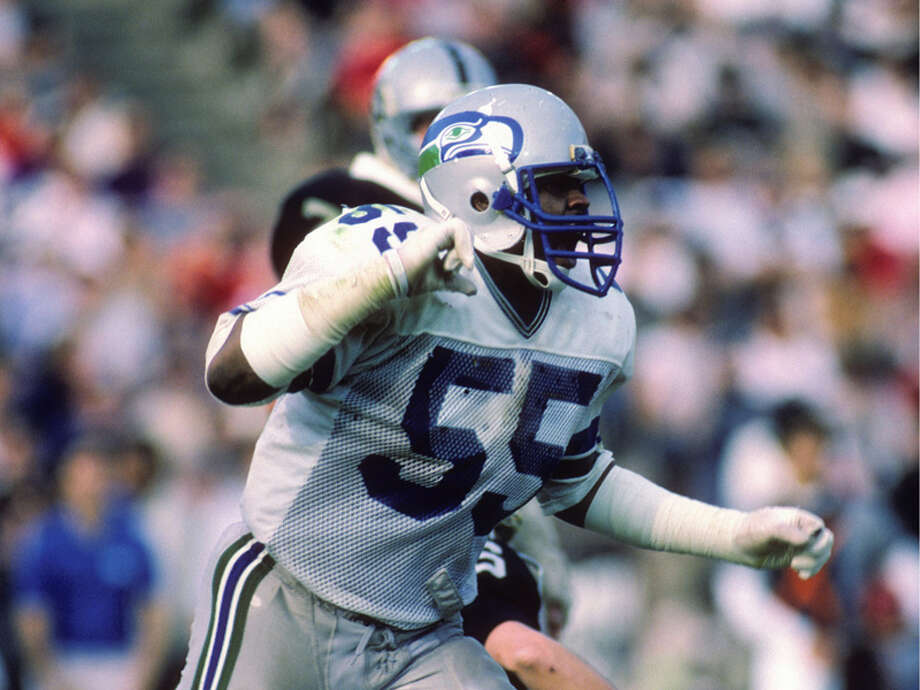 Former linebacker Michael Jackson was one of dozens of former Seahawks players who responded to a survey from KING-TV asking about health issues caused by their playing careers. Photo: George Rose, Getty Images / 1985 Getty Images