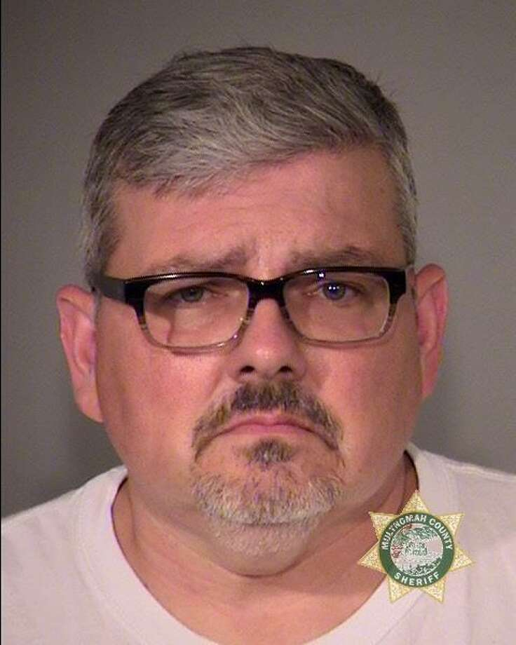 Gregory Mark Molley, pictured in a Multnomah County Jail photo.
