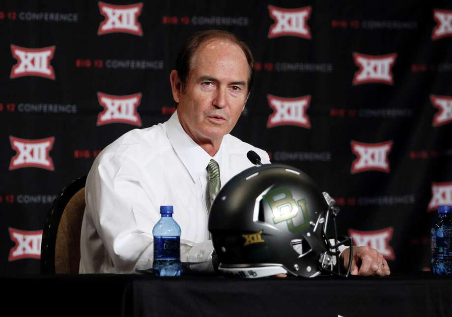 Baylor head coach Art Briles said Friday that he was not informed of any violent incidents in Sam Ukwuachu's past, but that was contradicted by former Boise State coach Chris Peterson's statement. Photo: Tony Gutierrez, STF / AP