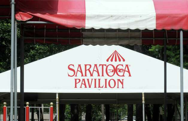 Things are quickly coming together for the July 24th Opening Day Celebration at Saratoga Race Course on Tuesday July 21, 2015 in Saratoga Springs, N.Y. (Michael P. Farrell/Times Union) Photo: Michael P. Farrell / 00032704A
