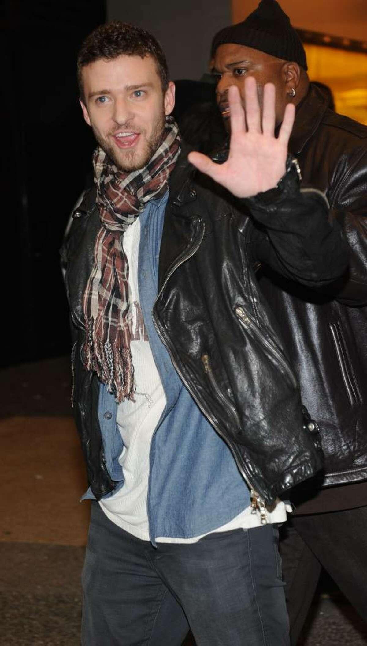 NEW YORK - NOVEMBER 16: Justin Timberlake attends MTV's