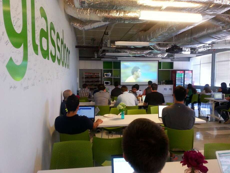 FILE: A look at Glassdoor's offices. The company has laid off 300 employees. Photo: Glassdoor