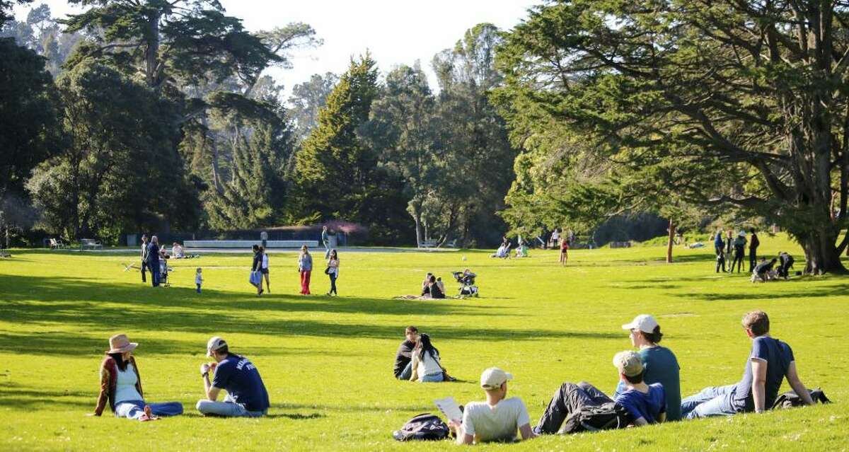 Adele took a walk through Golden Gate Park.