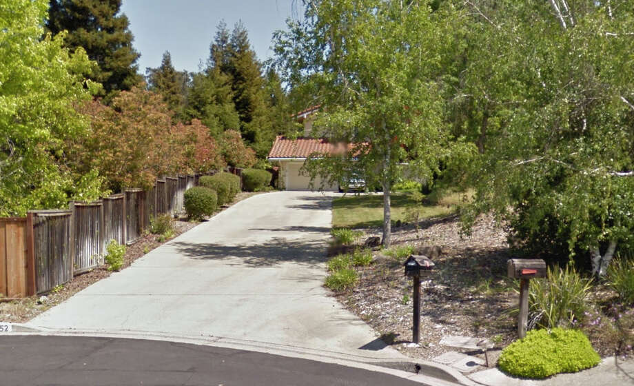 Scott Bertics shot Clare Orton at this home on Holton Court in Walnut Creek on Tuesday. Photo: Google Maps