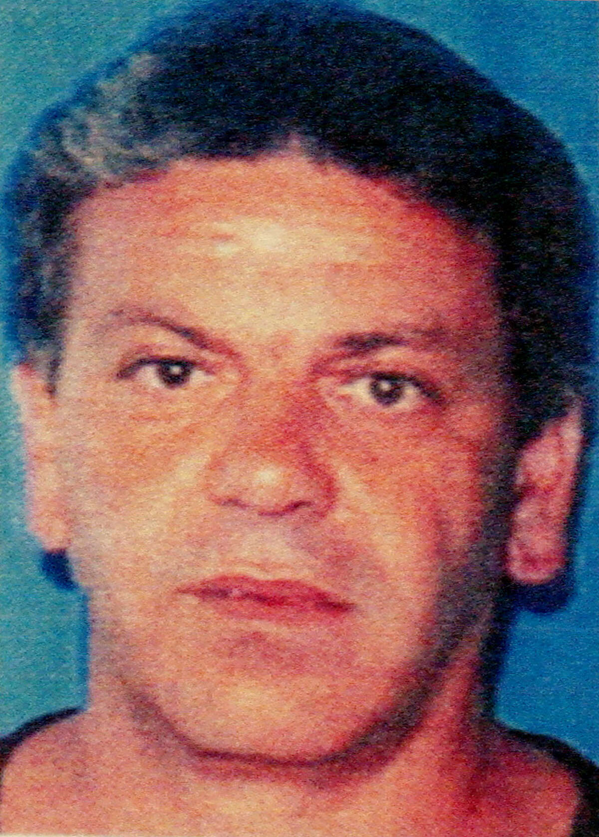 Copy of mug shot of Anthony Megale. U.S. charges acting boss, acting underboss and top leaders of Gambino crime family with racketeering and other crimes. U.S Atty. Office for Southern District of NY, St. Andrews Plaza, NYC. Wednesday March 9 2005