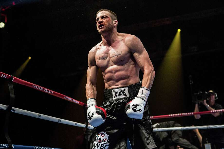 "Jake Gyllenhaal bulked up for his role in ""Southpaw."" Photo: HO / Philadelphia Inquirer"