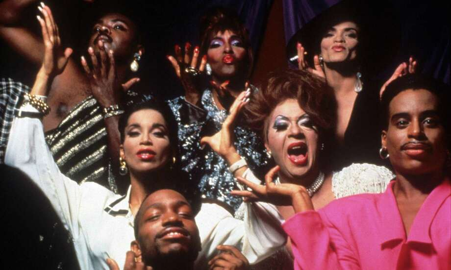 """Paris is Burning""1990An absorbing documentary that looks at the drag balls of New York City, which were fueled by people of color in the gay and transgender communities. / © OFF WHITE PRODUCTIONS / Ronald Grant Archive  / Alamy"