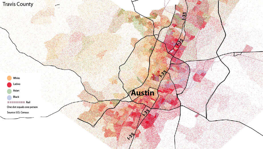 Maps show visible racial divides in major Texas cities Houston Chronicle