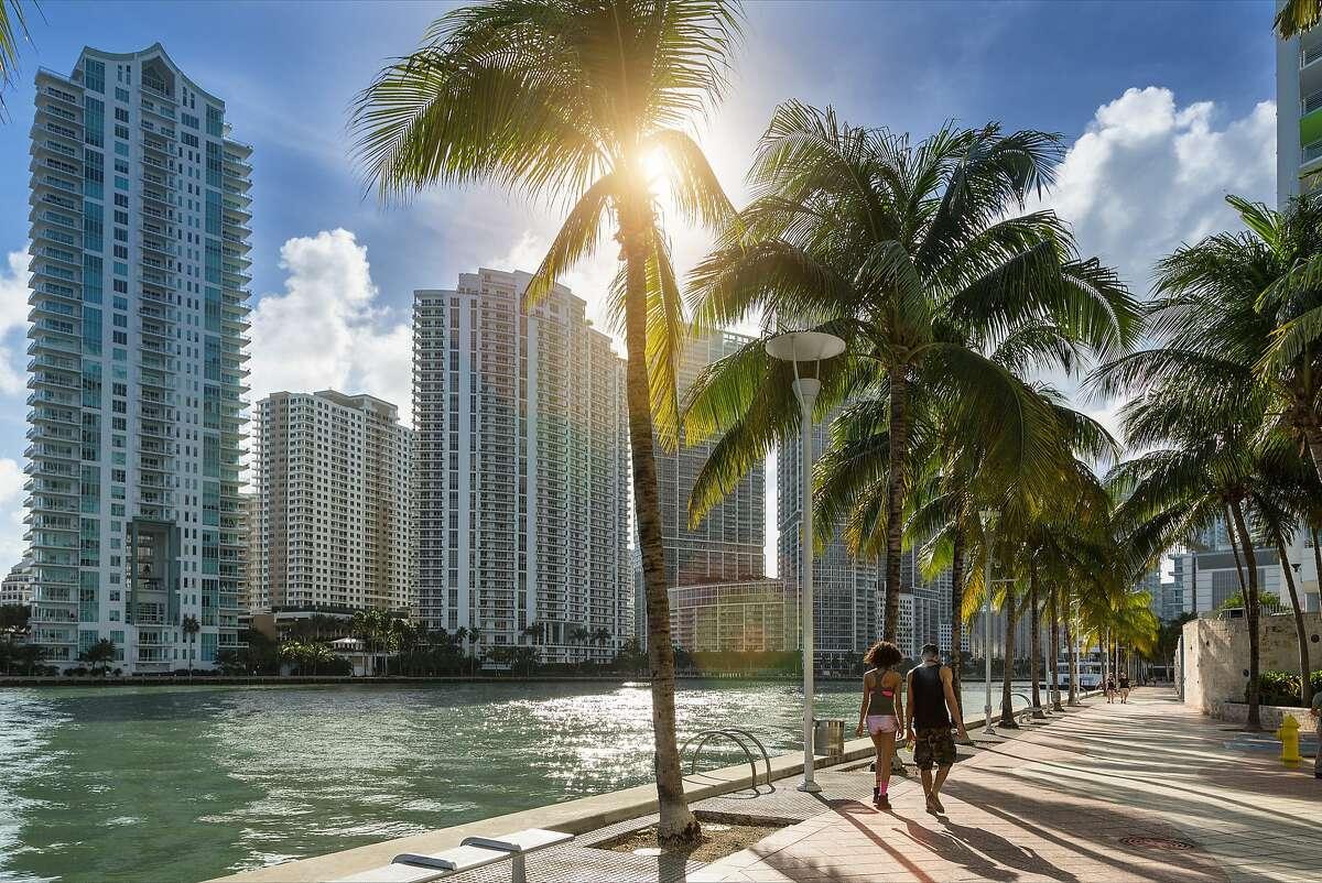 9. Miami Median one-bedroom rent: $1,800