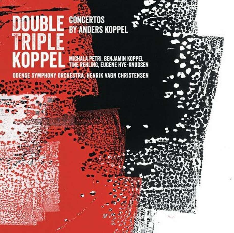 CD cover: Anders Koppel, Concertos Photo: Dacapo Records