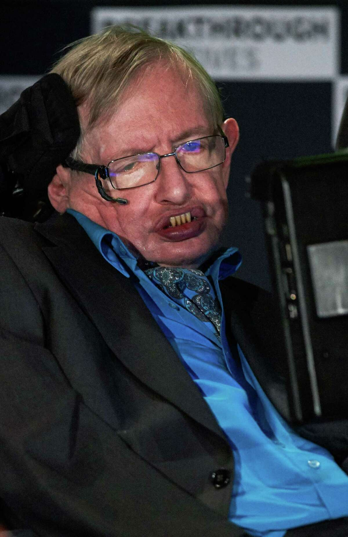 Scientist Stephen Hawking was a British theoretical physicist who contracted ALS shortly after he turned 21. He died in March 2018.