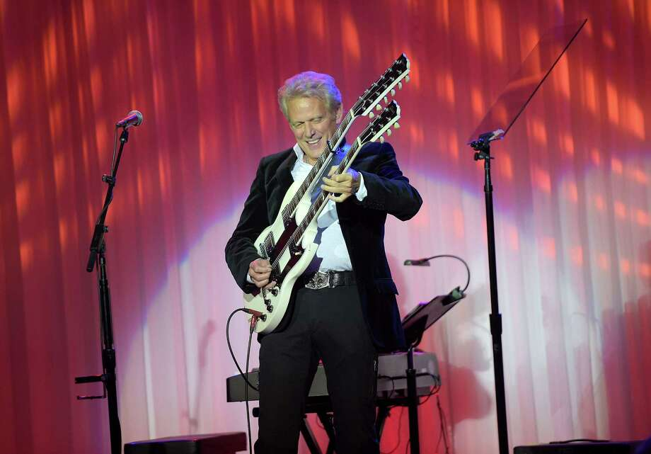 Don Felder, a former member of the Eagles, will be at the Levitt Pavilion in Westport for a concert on Saturday, July 25. Photo: Jason Kempin / Getty Images / 2015 Getty Images