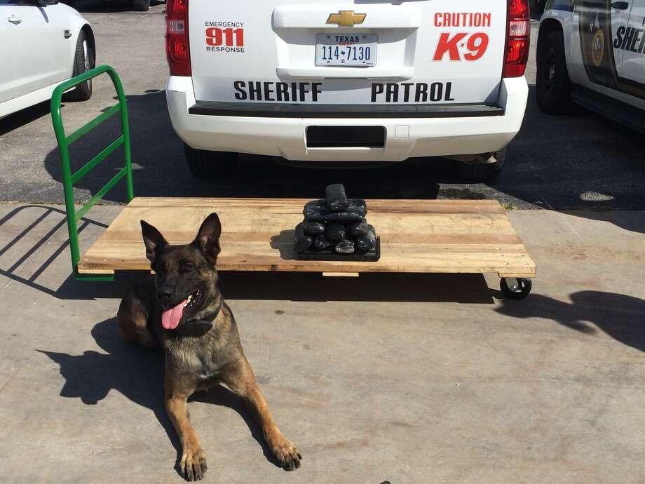 Bexar County Sheriff's deputies seize $500,000 in meth during traffic stop. Photo: Bexar County Sheriff's Office