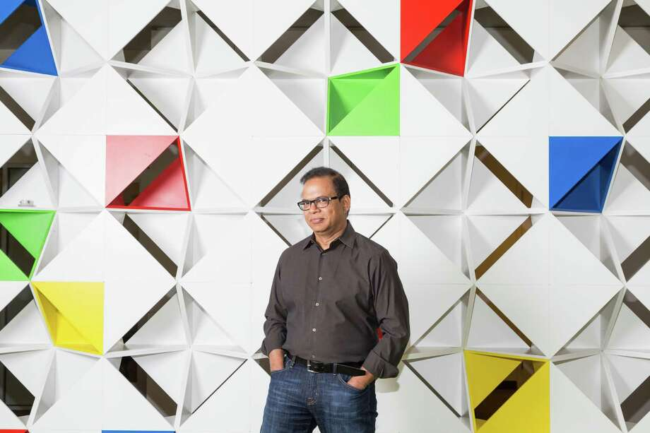 The challenge of Amit Singhal, Google's search chief, is to figure out how to expand the search engine's influence to mobile phones. Photo: Jason Henry / New York Times / NYTNS