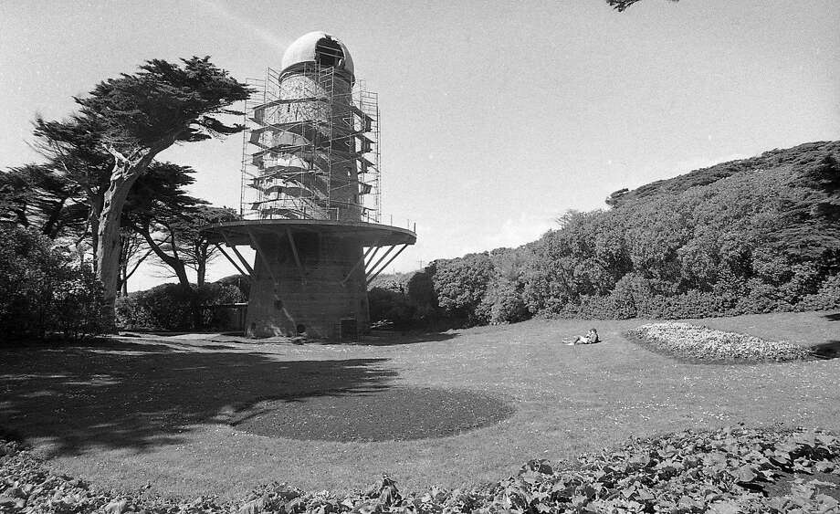 Negative pack dated April 10 1979 Photos of the North Windmill, also known as the Dutch Windmill and the Murphy Windmill in Golden Gate Park, in disrepair .. to be restored Photo: Gary Fong, The Chronicle