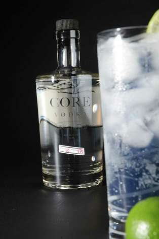 Core vodak with tonic water and lime Thursday, July 16, 2015, at the Times Union in Colonie, N.Y. (Will Waldron/Times Union) Photo: WW / 00032614A