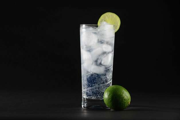 Vodak with tonic water and lime Thursday, July 16, 2015, at the Times Union in Colonie, N.Y. (Will Waldron/Times Union) Photo: WW / 00032614A
