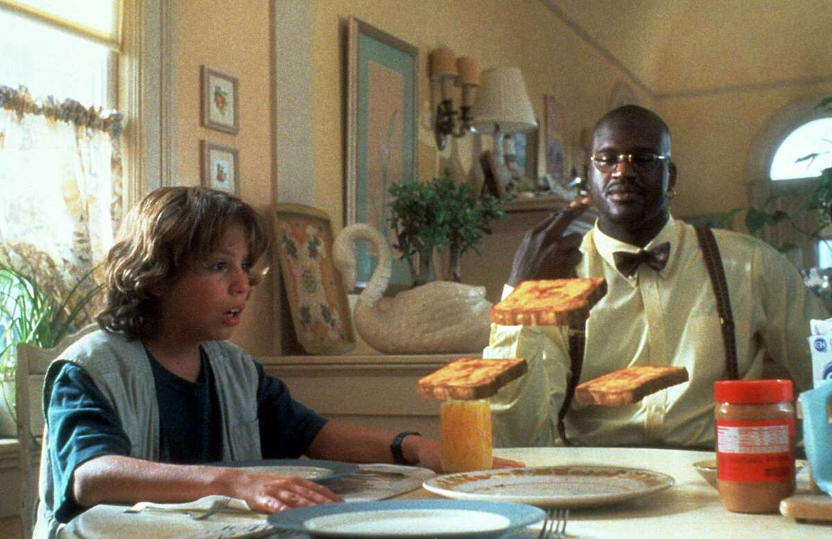 Shaquille O'Neal, 'Kazaam' One of O'Neal's first movie roles was as the genie in this 1996 movie.