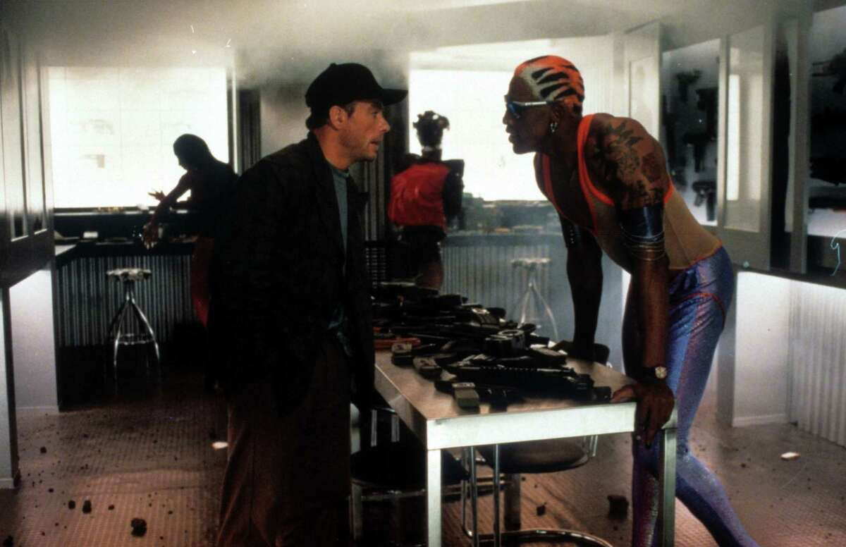 Dennis Rodman, 'Double Team' The eccentric NBA star teamed with Jean-Claude Van Damme in the 1997 action flick.
