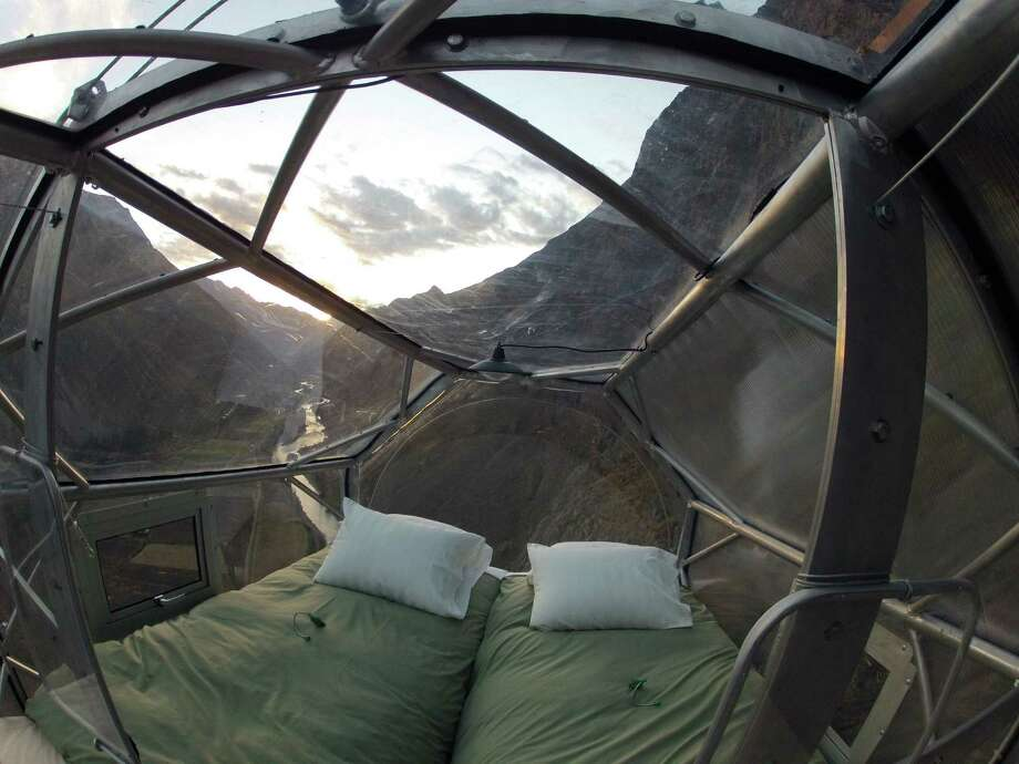 Skylodge Adventure Suites offers a death-defying lodging experience above the Sacred Valley in Cusco, Peru. Photo: Courtesy Photo