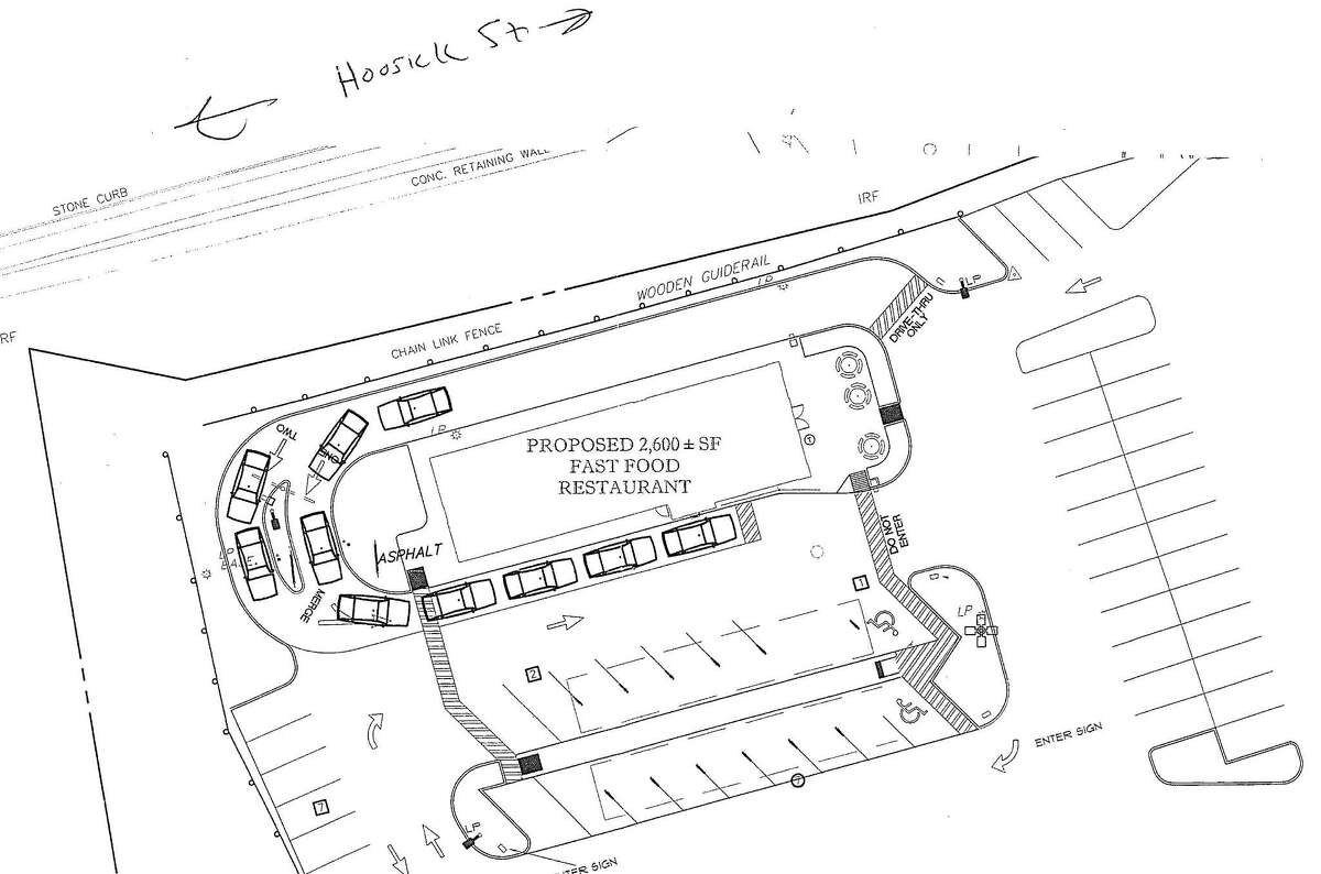 Proposed location of new Sonic Restaurant on 120 Hoosick St. in Troy.