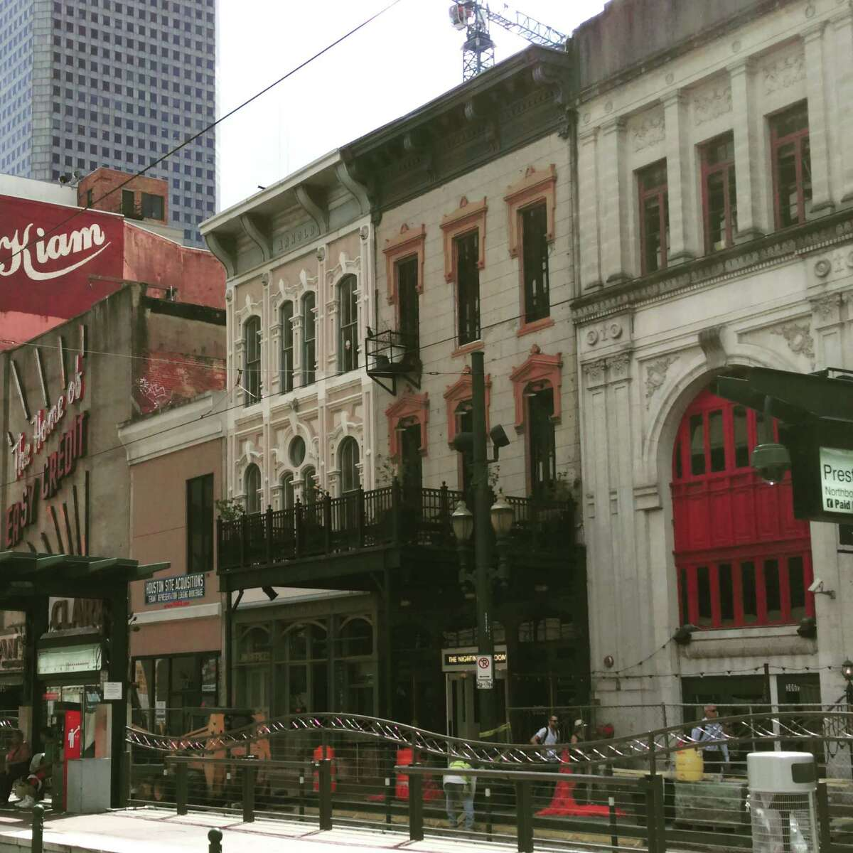 The building at 308 Main Street was designated a protected landmark by the city of Houston.