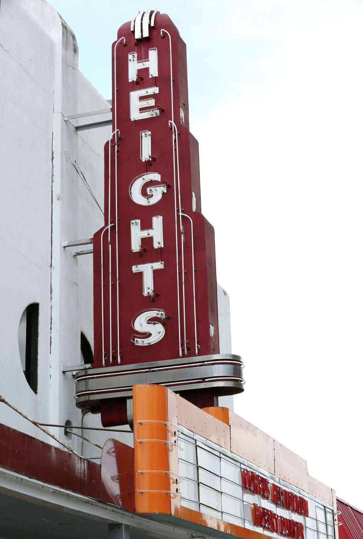 The former Heights Theater is seen Wednesday, July 22, 2015, in Houston. The building at 308 Main St. and the former Heights Theater at 339 W. 19th St. were designated landmarks by the City of Houston. ( Jon Shapley / Houston Chronicle )