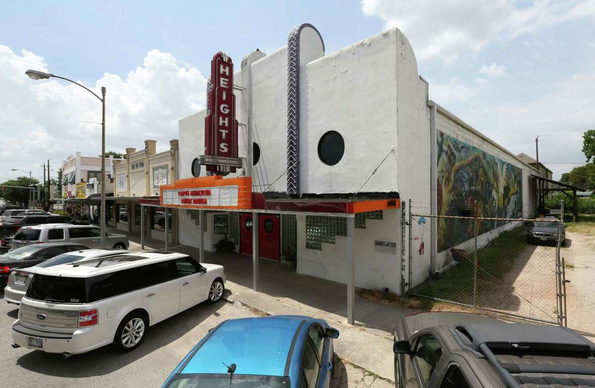 The former Heights Theater at 339 W. 19th St. is seen Wednesday, July 22, 2015, in Houston. The building at 308 Main St. and the former Heights Theater were designated landmarks by the City of Houston. ( Jon Shapley / Houston Chronicle )