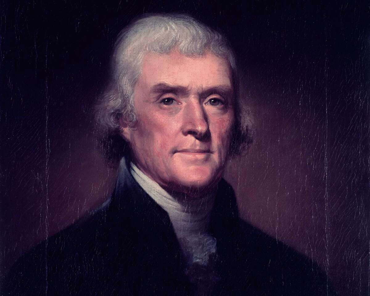 Portrait of Thomas Jefferson - CIRCA 1901 (artist unidentified).