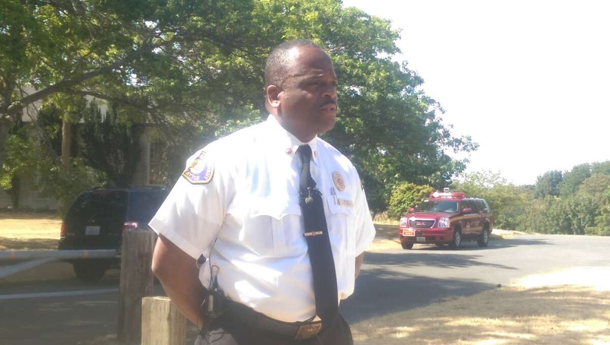 Seattle Fire Chief Harold Scoggins explains the dangers this year's dry weather has posed to Seattle on Wednesday, including more than double the brush fire incidents so far in 2015 than there were during all of 2014.