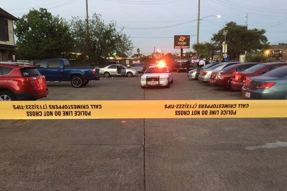 An HPD officer reportedly shot a man Wednesday evening at an apartment complex along Gulfton.
