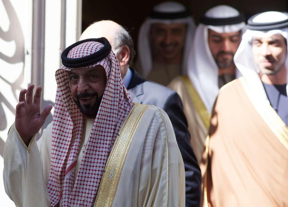 Sheikh Khalifa bin Zayed Al Nahayan Country: United Arab Emirates Net worth: $15 billion