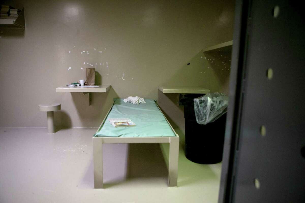 Sandra Bland was found hanged in this cell in the Waller County Jail in Hempstead, officials say. Documents released Wednesday included two mental health assessments done hours apart on the day she was arrested.