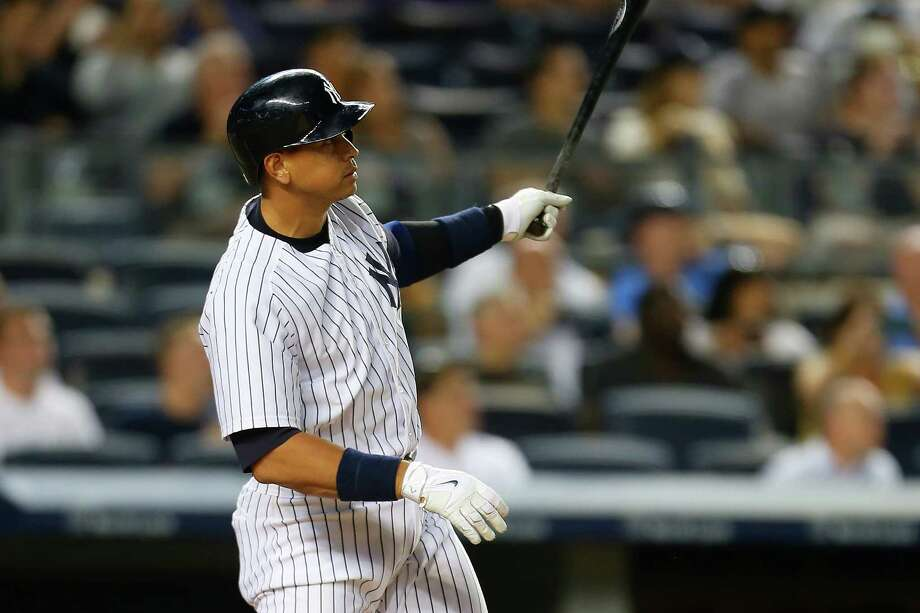 NEW YORK, NY - JULY 22:  Alex Rodriguez #13 of the New York Yankees connects on a solo home run in the fifth inning against the Baltimore Orioles at Yankee Stadium on July 22, 2015 in the Bronx borough of New York City.  (Photo by Mike Stobe/Getty Images) ORG XMIT: 538587115 Photo: Mike Stobe / 2015 Getty Images