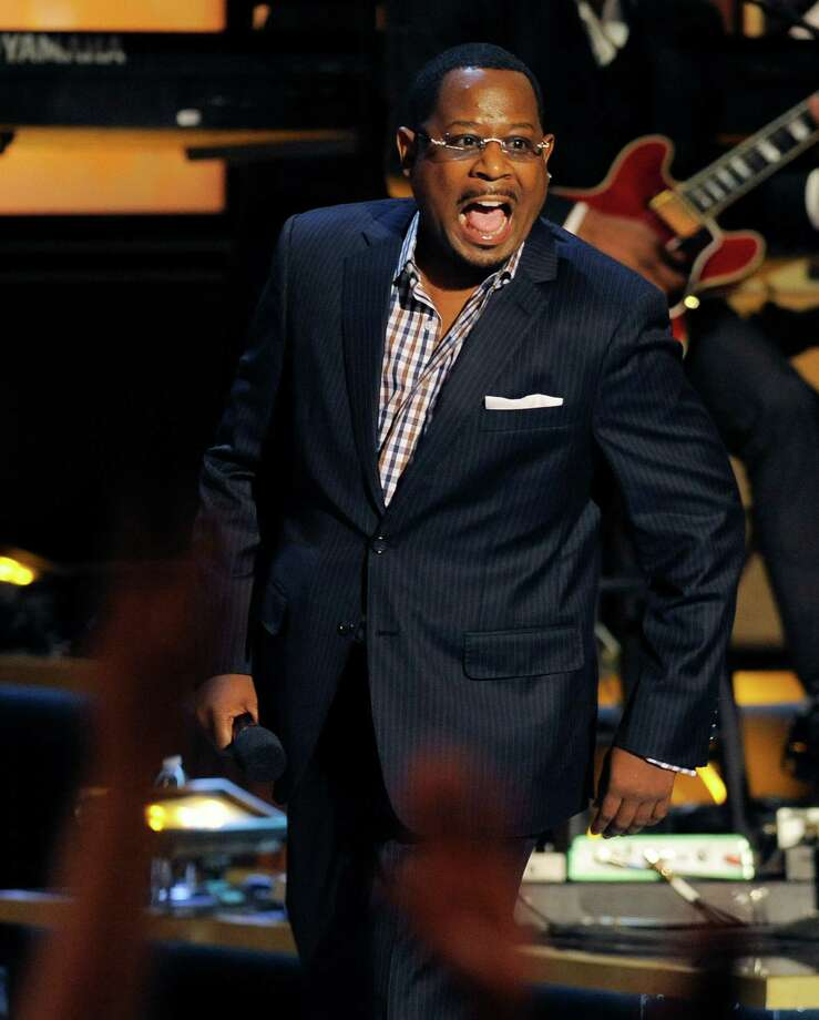"""Lawrence performs in """"Eddie Murphy: One Night Only,"""" a celebration of Murphy's career, in 2012. Photo: Associated Press File Photo / Invision"""