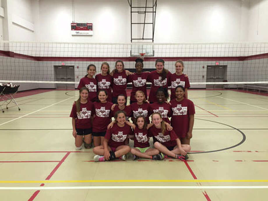 Middle school Volleyball camp held by Misti Clark the new JHS head Volleyball and girls track coach. courtesy photo