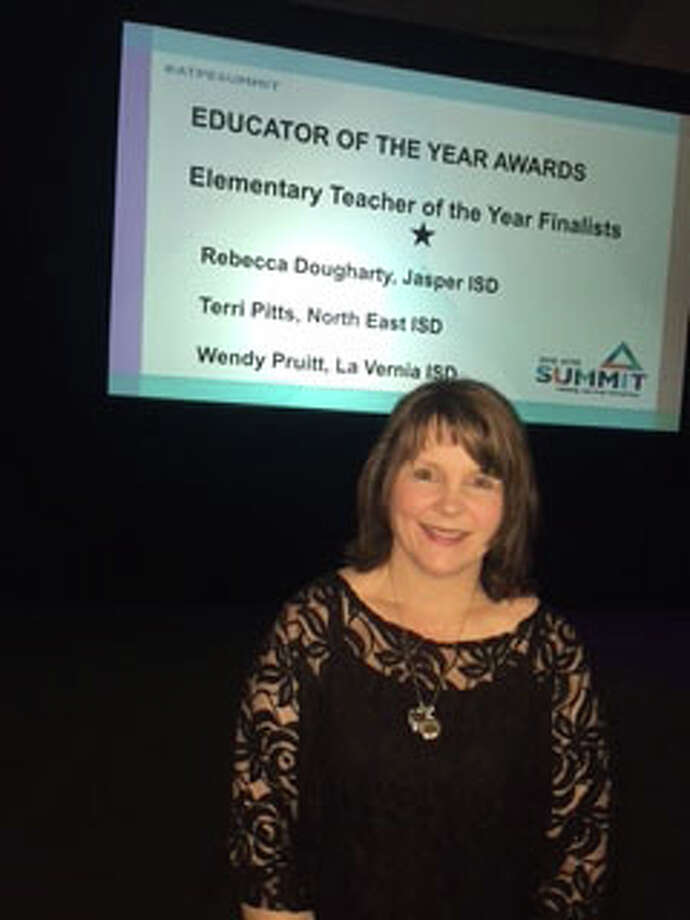 Rebecca Dougharty a 3rd grade math teacher at Few Primary wins the ATPE award. courtesy photo