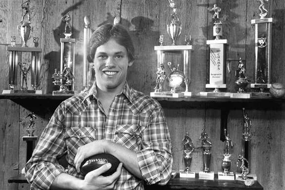 Baseball and basketball trophies filled the shelves at the Biggio home, but Craig got some of his top honors in football with a scholarship offers to Boston College and Penn State.