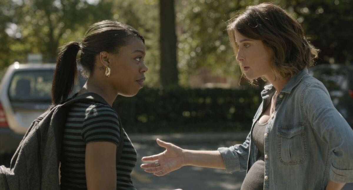 """Gail Bean, left, and Cobie Smulders star in Kris Swanberg's film """"Unexpected."""""""