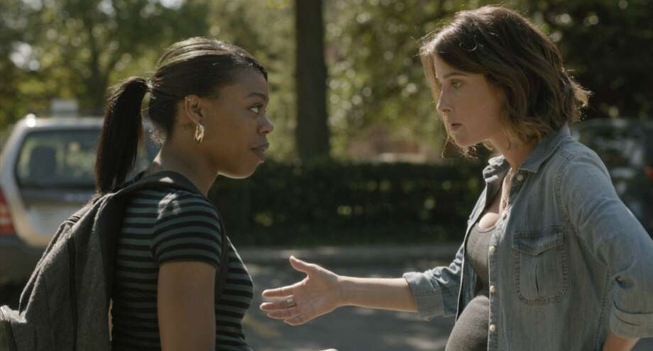 """Gail Bean, left, and Cobie Smulders star in Kris Swanberg's film """"Unexpected."""" Photo: The Film Arcade"""