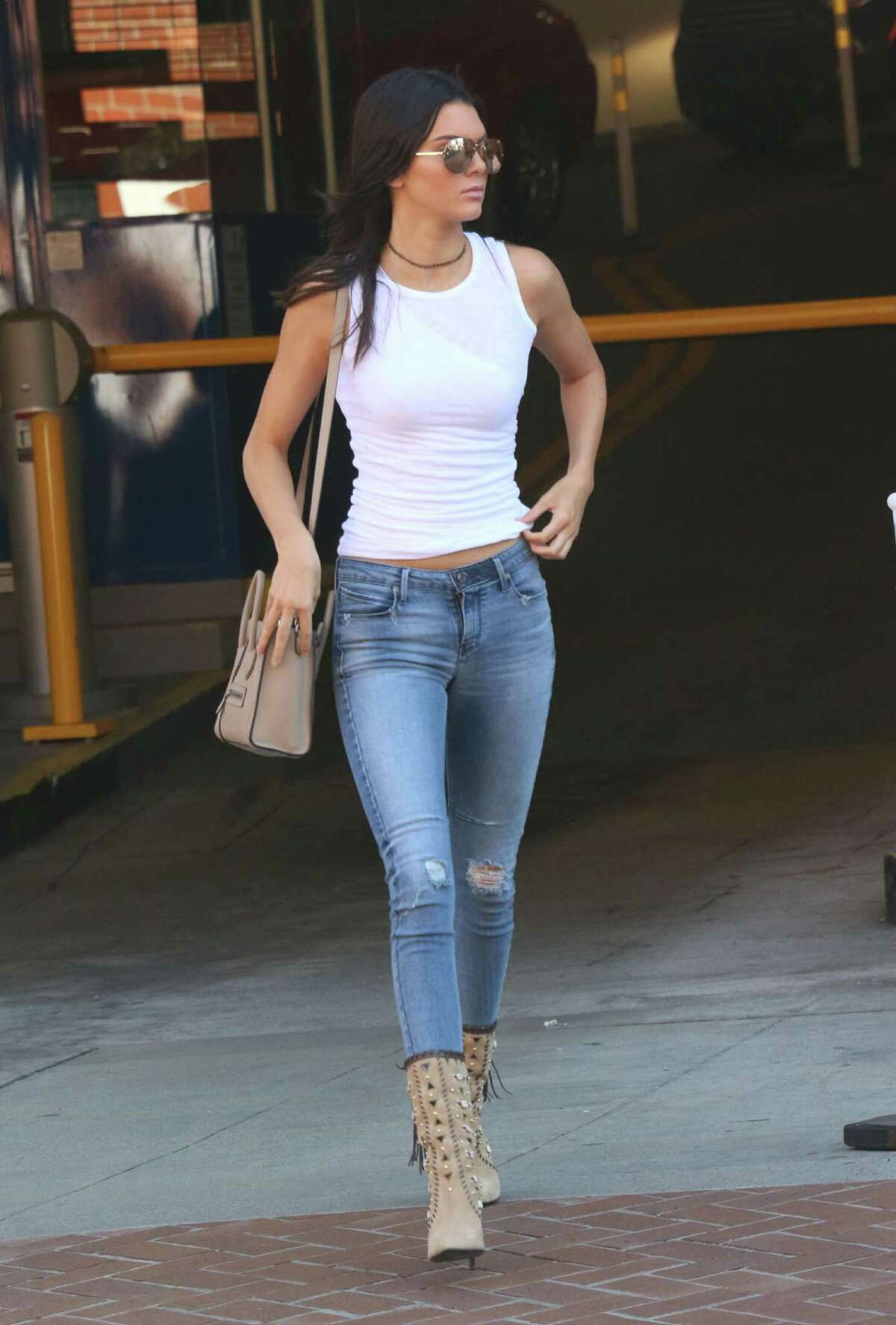 Kendall Jenner is seen on July 17, 2015 in Los Angeles, California. (Photo by KeithJMA/Star Max/GC Images)