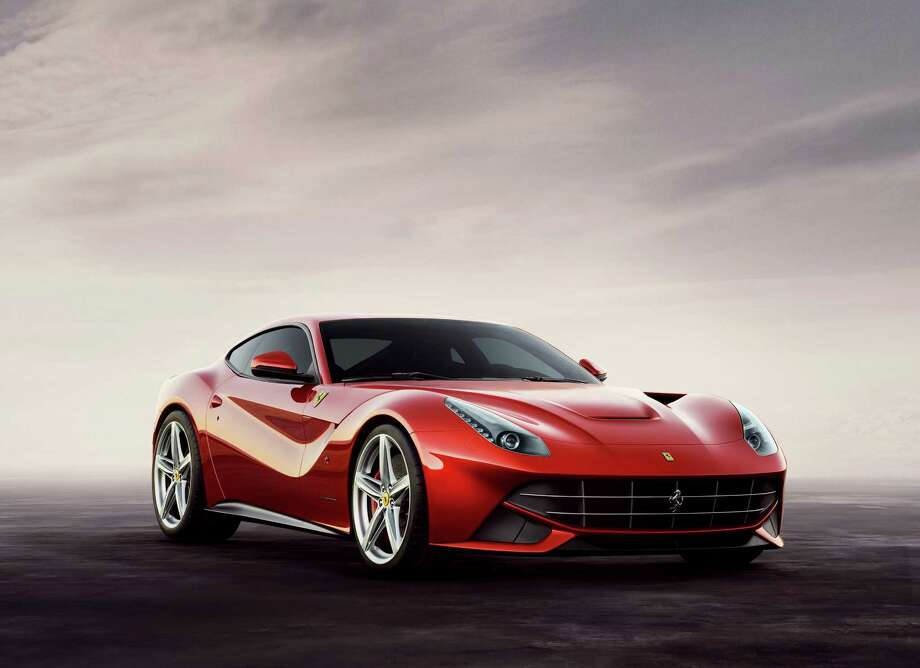 Click through these images to see Ferrari's current line up — from four-wheel-drive to hybrid:The Ferrari F12berlinetta features the company's 382.13 cubic-inch V-12 motor. Photo: Ferrari