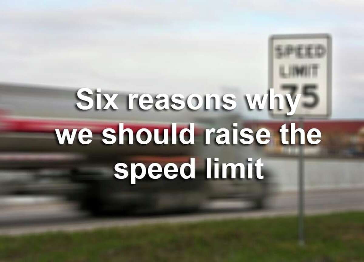 Here are six reasons why we should consider raising the speed limit, according to Stephen Boyles, an assistant professor in transportation engineering at the University of Texas at Austin.