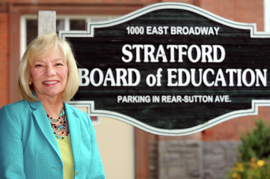 Dr. Janet RobinsonSuperintendent of Schools in Stratford Photo: Ned Gerard / Ned Gerard / Connecticut Post
