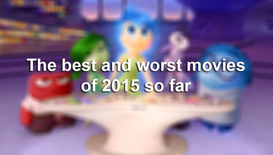 The best and worst movies of 2015 so far Photo: Pixar, Disney-Pixar