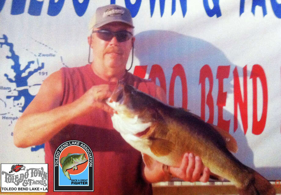 Trenton Curphy is leading the pack for the Toledo Bend Lunker Program 2015-2016 season so far with his 12.93 lb catch